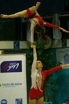 Belgium Women's Pair 2014 Martial, Acrobatic Gymnastics, Lift And Carry, My Gym, Contortion, Stunts, Motivation Inspiration, Belgium, Dutch