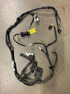 YAMAHA RAPTOR 125 250 IGNITION COIL WIRE STOCK OEM CAP 2011 2012 2013 08 09 10