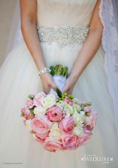Pretty pink bouquet.