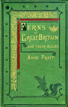Ferns of Great Britain and their Allies by Anne Pratt / CABINET OF CURIOSITIES: Judging a Book by its Cover