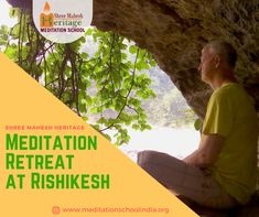 Step away from your busy #life and #relax deeply into a #blissful Meditation Retreat at Rishikesh in the #foothills of the #Himalayas, the home of enlightened #Saints and sages.Our #Meditation retreat is designed to help you relax, #refresh and #revive at many levels as a human being, no matter whether you are an absolute #beginner or an #advanced practitioner,