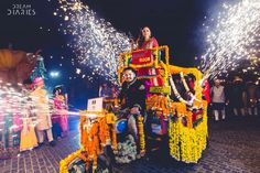 Innovative entry ideas for the Indian Bride | Enter like a desi gangster on a phatphatia! | Curated by Witty vOWs