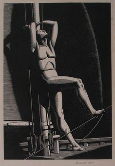 Rockwell Kent, pictor si ilustrator american, nascut in 21 iunie, ziua solstitiul de vara Rockwell Kent, Norman Rockwell, Harlem Renaissance, Art Deco, Scratchboard, Paris Art, Wood Engraving, Woodblock Print, American Artists