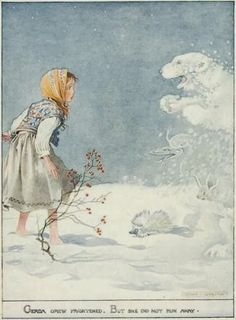 """Honor Appleton's illustrating career began when she was studying at the Royal Academy Schools. She illustrated over 150 books, developing """"a very delicate watercolour style that captured the innocent world of children, their adventures and their life"""". She was influenced both by Kate Greenaway's delicate watercolors and by Heath Robinson's and Arthur Rackham's use of line and large white spaces."""