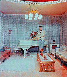 Elvis at home