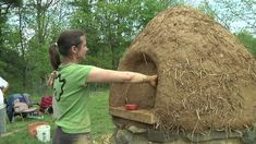 How to Build a Cob Oven - Part Three - YouTube
