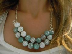 diy homemade necklace