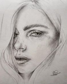 Annelies Bes is a pencil sketch artist from Netherlands. Continue Reading and for more drawings → View Website Dark Art Drawings, Art Drawings Sketches, Beautiful Drawings, Pencil Drawings, Pencil Sketches Of Faces, Pencil Sketch Portrait, Portrait Art, Portraits, Realistic Sketch