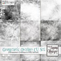 Grungetastic Overlays CU Set 1