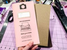 Hi everyone! I am on the Evalicious blog today with a tutorial on how I made my own Midori-style notebook for my Midori Traveler's Notebook! If you're not sure what a traveler's notebook is, I googl