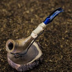 Zulu Texas Mesquite and Bamboo Tobacco Pipe. Great Men's