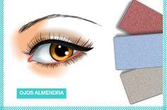 Ojos Almendra, luce el natural de tus ojos con tonos como los berenjena, grises y azulados. #lovemk Mary Kay