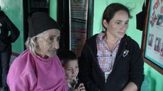 Honduras Jan. 2014 Medical/Dental Brigade, San Antonio Valle - 83 year old very grateful to be able to see a doctor