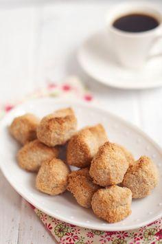 Cinnamon & Coconut Macaroons. Recipe by Rachel Allen