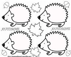Leuk om een egeltje mee te knutselen. Kan bijvoorbeeld met herfstbladeren of met propjes crêpepapier.