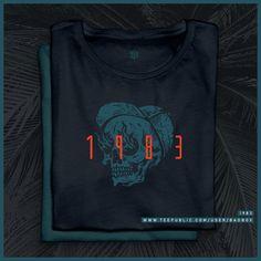 Shop 1983 1983 t-shirts designed by BadBox as well as other 1983 merchandise at TeePublic. Shirt Designs, Retro, Sweatshirts, T Shirt, Shopping, Tops, Women, Fashion, Tee