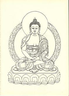 佛祖 Buddha illustrations4