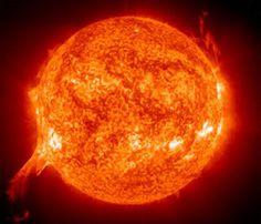 Sun's surface Phoenix background