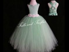 Mint Green Lace Corset Back Flower Girl Dress-Lace Shabby Chic Corset Style Halter Flowergirl Dress Tutu Dress-  Size Baby up to Size 12