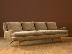 Another Kagan masterpiece - the Venetian Sofa... Combine my love of mid century design with my husband's love of comfort!
