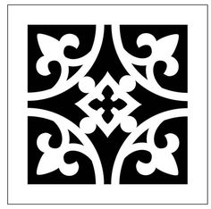 Reusable Laser-Cut Floor or Wall Tile Stencil Reusable Laser-Cut Floor or Wall Tile Stencil Tile Pattern 31 Reusable Laser-Cut by PearlDesignStudio The post Reusable Laser-Cut Floor or Wall Tile Stencil appeared first on Warm Home Decor. Hand Painted Wallpaper, Painting Wallpaper, Stencil Art, Stencil Designs, Stencil Stickers, Wood Burning Tool, Laser Cut Stencils, Types Of Painting, Painting Tips