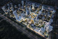 10 DESIGN Wins Competition for Massive Urban Development in Zhuhai,Courtesy of 10 Design