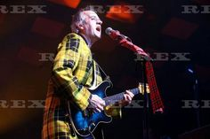 Bay City Rollers in concert at The Glasgow Barrowland Ballroom, Glasgow, Scotland, Britain - 20 Dec 2015  Bay City Rollers - Stuart John 'Woody' Wood 20 Dec 2015