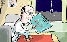 A number of opinion polls show that French President Francois Hollande's connection to people of his country is very weak.