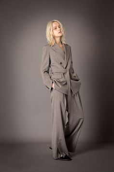 2021-22 A/W 021, Heat Storage Herringbone Belted Tailored Jacket FRC-J03-501F, Heat Storage Herringbone Slit Baggy Pants FRC-P03-501 Tailored Jacket, Herringbone, Womens Fashion, Jackets, Clothes, Collection, Woman, Storage, Pants