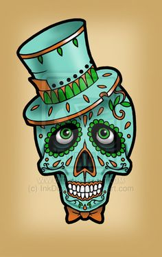 male sugar skull images - Google Search