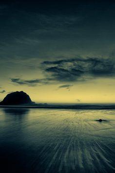 Quand le ciel et la mer se mélangent.....