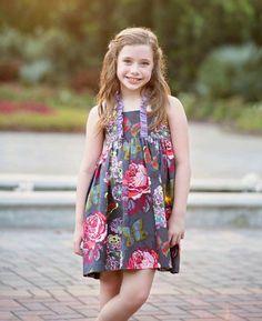 Meraki Dress PDF pattern Girls Dress Pattern Baby by jlPatterns; Dress sample made by Because of Brenna Baby Girl Dress Patterns, Baby Patterns, Girls Dresses, Summer Dresses, Dress Tutorials, Pdf Sewing Patterns, Ruffle Top, Sundresses, Meraki