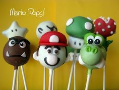 Mario! I need to make these for my grandson.