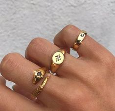 Nail Jewelry, Dainty Jewelry, Cute Jewelry, Gold Jewelry, Jewelry Accessories, Fashion Accessories, Fashion Jewelry, Chunky Jewelry, Chunky Rings