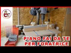 Supporto fai da te per il trapano a colonna - YouTube Woodworking, Home Appliances, Youtube, House Appliances, Appliances, Carpentry, Wood Working, Woodwork, Youtubers
