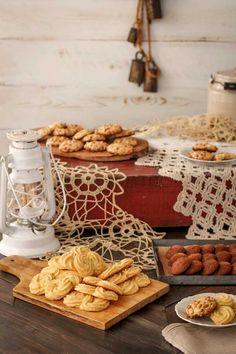 Gluten Free Italian Polenta Cookies / {Beard and Bonnet}