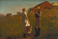 Old Paint (loumargi:    Winslow Homer)