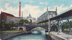 Berlin ca.1905 Am Gleidreieck (Postkarte)