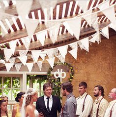Cheap Event & Party Supplies, Buy Directly from China Suppliers: The Bunting is vintage and natural,can be washed,so that it can used for many events.Wedding,baby show,birthday