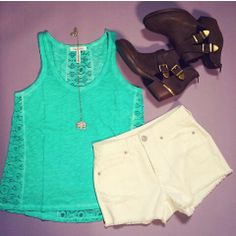 Another cute summer top from AREO!!♡