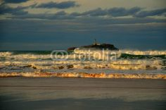Santander lighthouse, Spain Lighthouse, Monument Valley, Adobe, Nature, Painting, Travel, Image, Pictures, Bell Rock Lighthouse