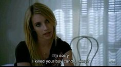 Imagen de american horror story, ahs, and emma roberts American Horror Story Quotes, Madison Montgomery, Witch Coven, Ahs Witches, Misty Day, Evan Peters, Emma Roberts, Best Shows Ever, Horror Stories