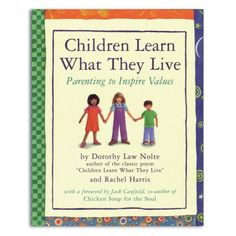 Parenting to Inspire Values. Recently ordered this beautiful book. Should be in every home.
