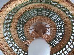 Поделка изделие Плетение Абажур Часть 2 Трубочки бумажные фото 11