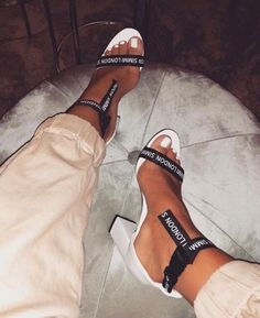 Pin by Lemonpv on Shoes in 2019 Aesthetic Shoes, Hype Shoes, Fresh Shoes, Cute Heels, Mode Outfits, Shoe Closet, Stilettos, Me Too Shoes, Crazy Shoes