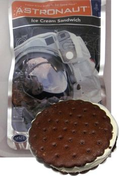 10 Vanilla Ice Cream Sandwich Astronaut Freeze Dried Space Food Novelty Set for sale online Ice Cream Mix, Vanilla Ice Cream, Skinny Cow, Space Food, Ice Cream Flavors, Ben And Jerrys, Freeze Drying, Gourmet Recipes, Sandwiches