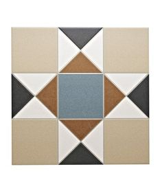 Grosvenor™ Beige/Blue Tile