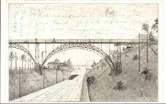 Valby med tog fra 1913