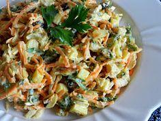 Pitadinha: Salpicão levinho Pasta Salad, Healthy Recipes, Healthy Food, Happy Healthy, Cabbage, Salads, Clean Eating, Low Carb, Yummy Food
