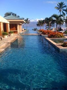 Four Seasons Maui- Went there on honeymoon-amazing! Spent a lot of time here.